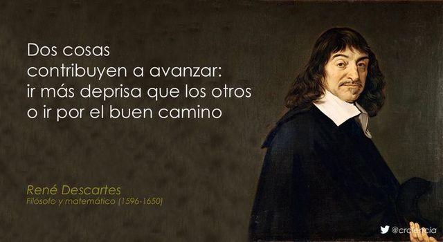 Rene Descartes, Realista. Nació en 1596.