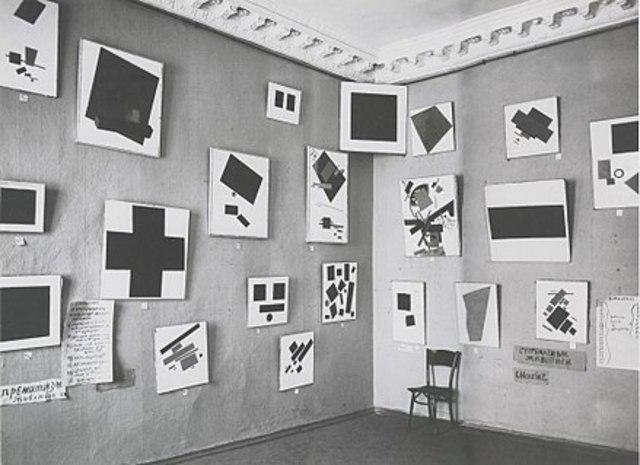 Monochrone Gemälde von Malevič