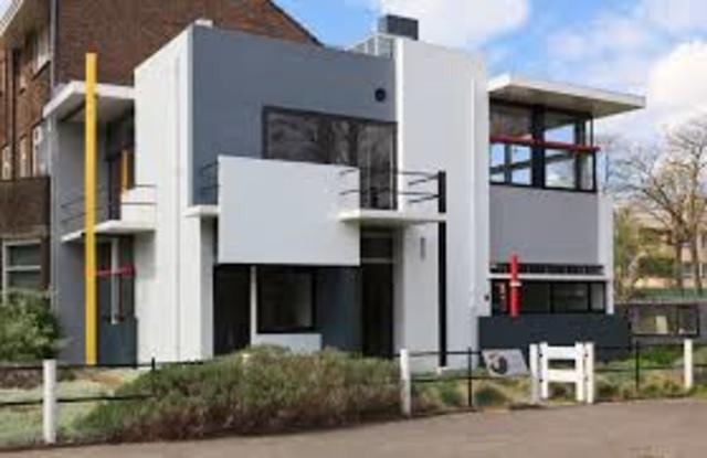 Haus Schröder von Gerrit Rietveld