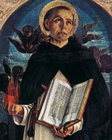 Neix Sant Vicent Ferrer