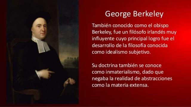 George Berkeley, Idealista