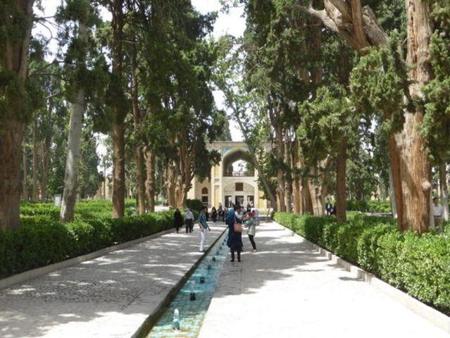 Schah Abbas I von Persien und seine Gärten