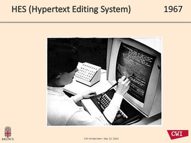 Hipertext Editing System
