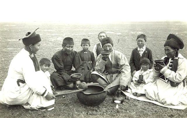 Появление калмыков в России