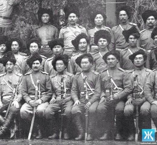 Калмыки в составе Войска Донского
