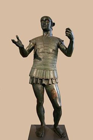 Etruscans reached northern Italy