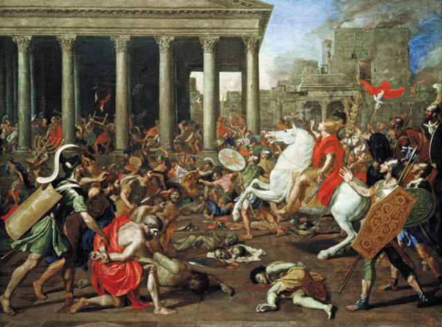 Romans revolted against the Etruscan kings and created the system of government by the Senate and Assembly