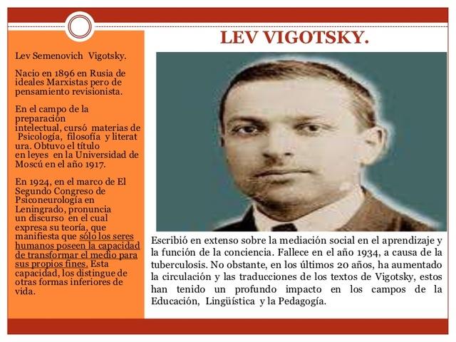 Lev Vigotsky, Constructivista