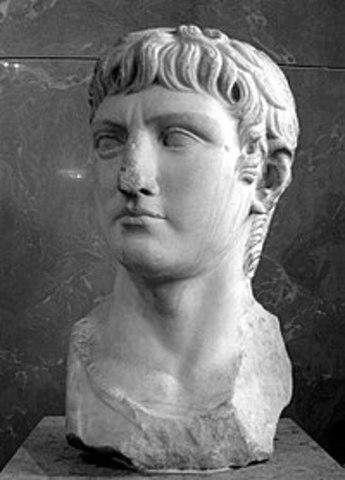 Tiberius, stepson of Caesar Augustus, became emperor in 14CE