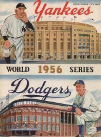 Brooklyn Dodgers vs New York Yankees World Series