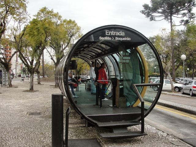 Автобусные остановки