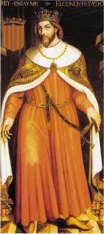 El llibre dels feyts escrit per Jaume I el conqueridor.