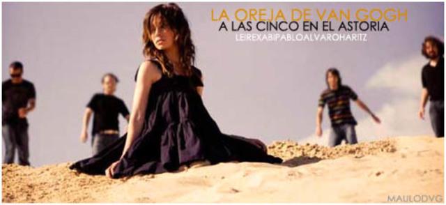 """El primer album sin Amaia Montero, """" A las cinco en el Astoria"""""""