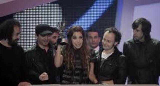 Obtienen el galardón del mejor artista o grupo español