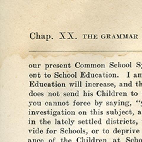 Bill on Public Education