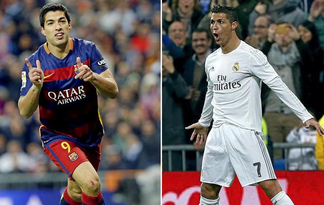 Cristiano Ronaldo - Luis Suárez