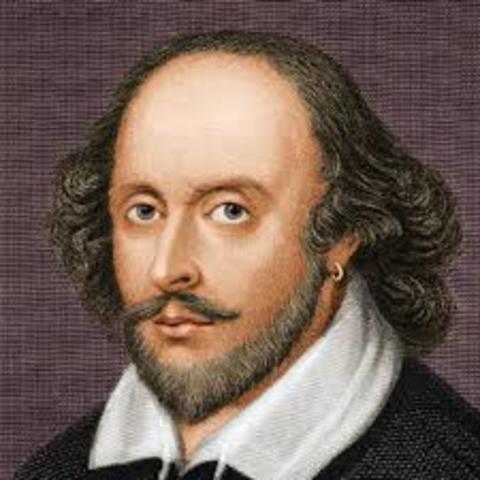 1564 William Shakespeare, the Bard of Avon, is born