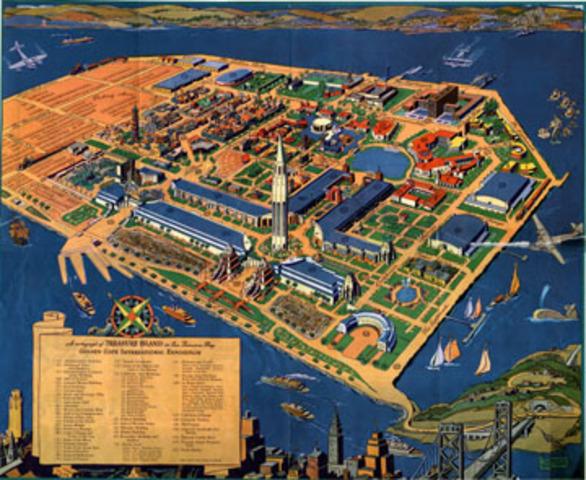 Golden Gate International Exposition opens