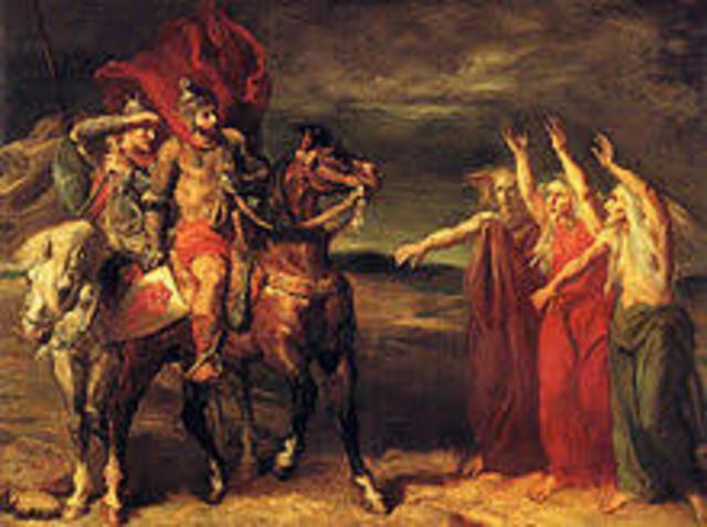 1606 Shakespeare writes Macbeth