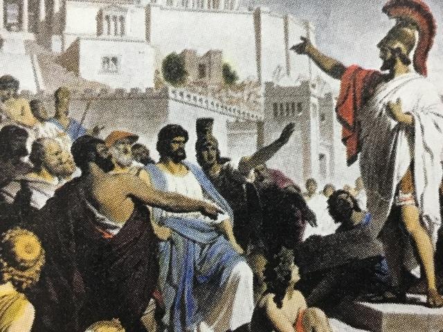Ch. 8.2 Ancient Greece, Democracy Begins
