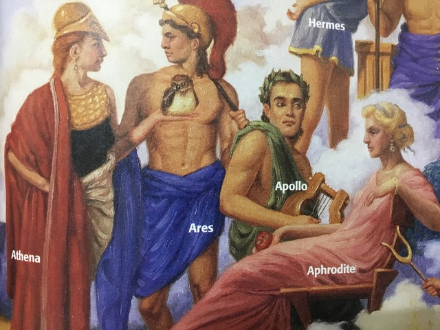 Ch. 8.3 Ancient Greece, Mythology