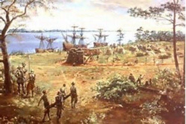 First permanent English Settlement in North America is established at Jamestown,Virginia.