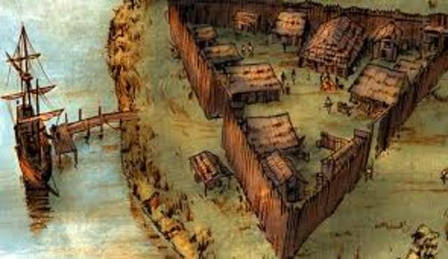 1607 First permanent English settlement in North America is established at Jamestown, Virginia