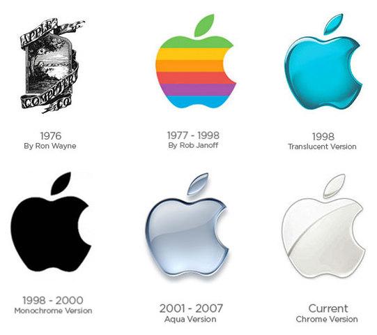 logo de la manzana