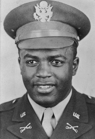 Jackie Robinson joins the  Army