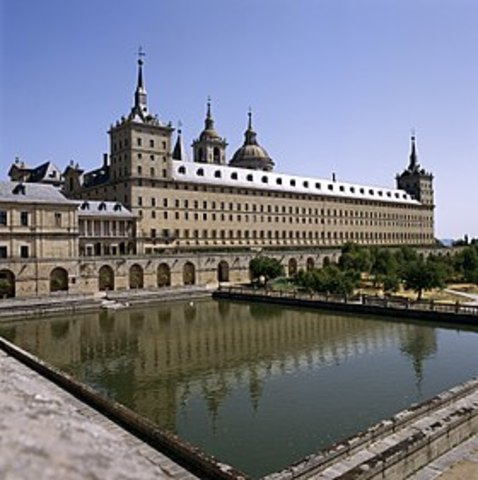Philip II's palace, Escorial, finished construction.