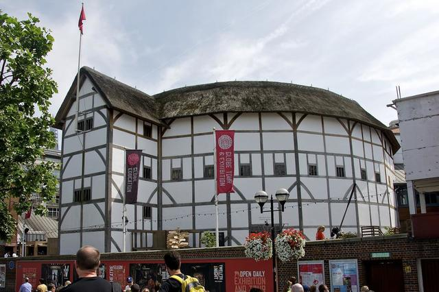 Globe Theatre is built in London