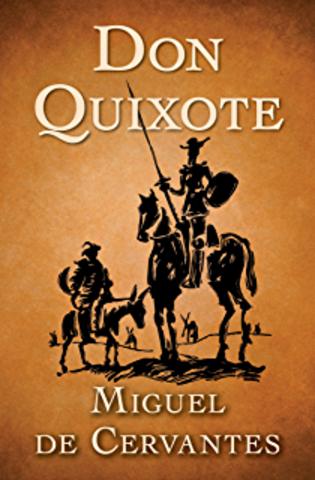 Miguel Cervantes published Don Quixote.