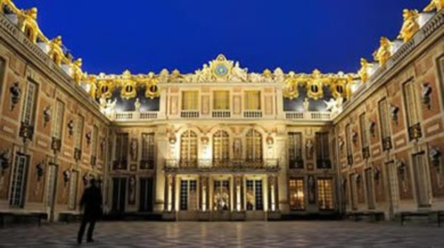 Louis XIV's Palace of Versailles was completed.
