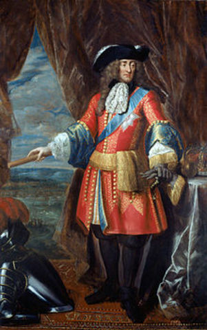 James II became the King of England.