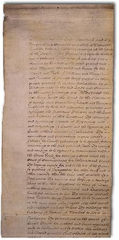 The English Bill of Rights was issued in England.