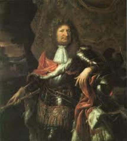 Frederick William became the Elector of Brandenburg.