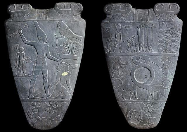 De 1e Egyptische Dynastie met de farao Narmer