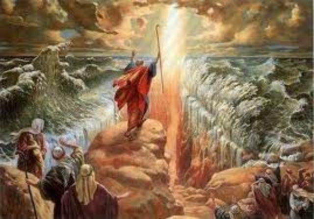 Mozes en de uittocht uit Egypte