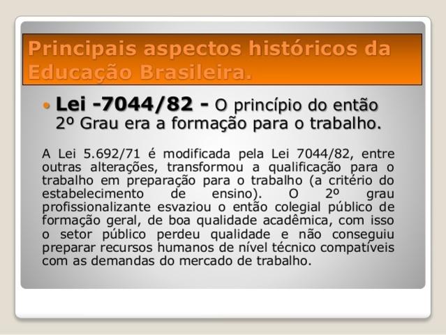 Lei n° 7044/82