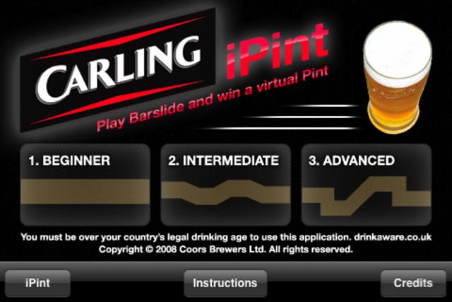 Carling: iPint