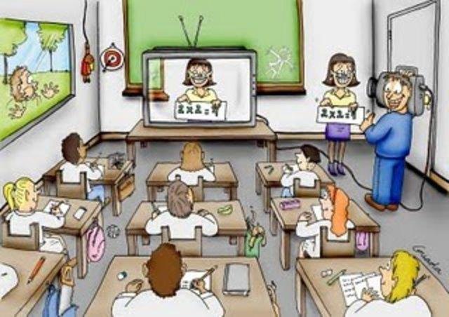 Introducción de la radio y la televisión en la educación