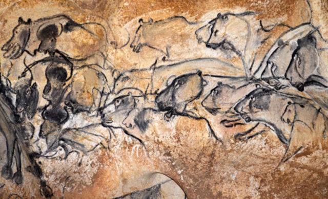 Prehistory - the beginning of cave art around the world