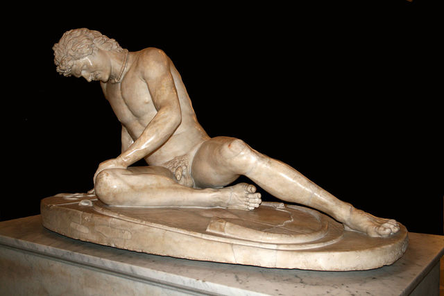 Famous Greek Sculpture: Dying Gaul