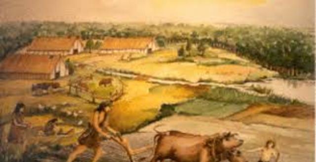 Eerste landbouwnederzettingen