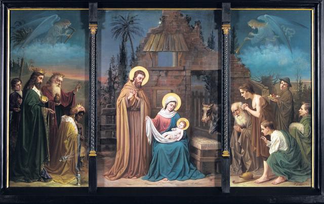 Jezus Christus geboren