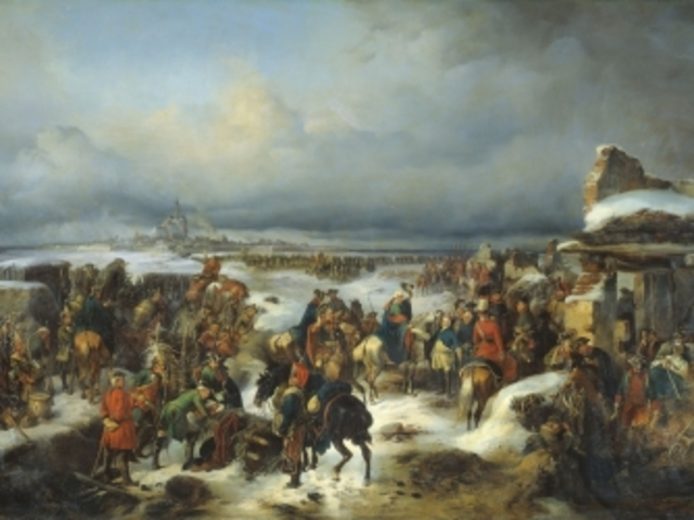 The Seven Years' War began.