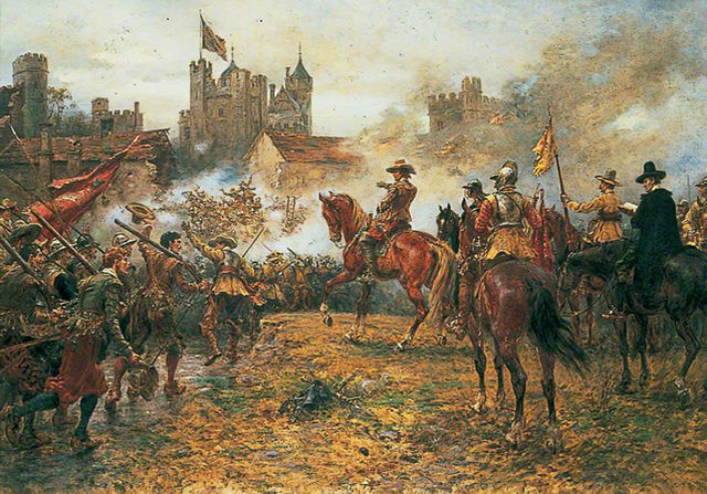 The English Civil War began.