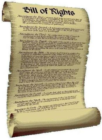 The English Bill of Rights was issued in England