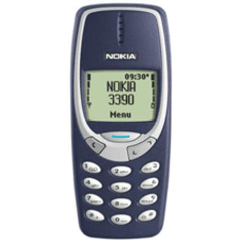 Segundo móvil: Nokia 3390