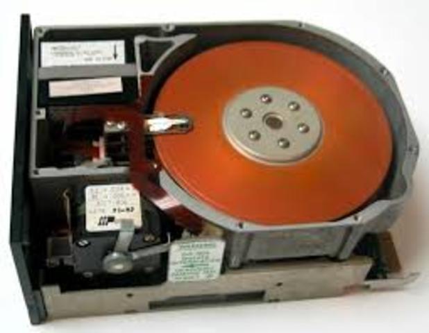 El primer disco duro
